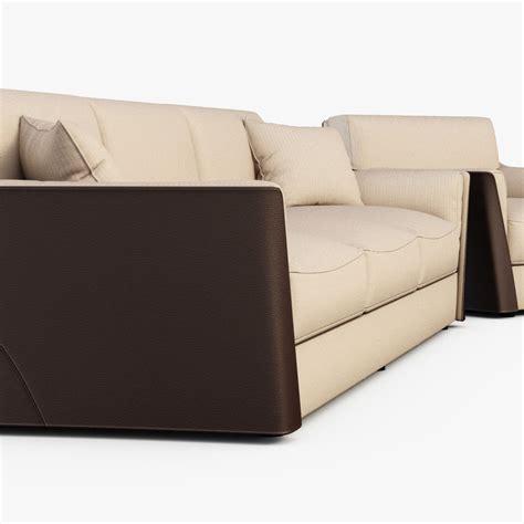sofa 3d max sofa vittoria 3d model max obj fbx cgtrader com