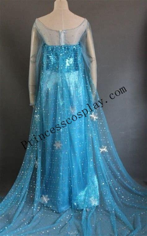 Costum Kostum Pesta Costume 14 Blue disney frozen elsa blue costume princess elsa dress