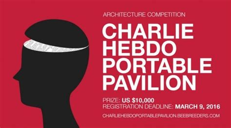 design competition launched for charlie hebdo pavilion bee breeders architecture competitions e architect