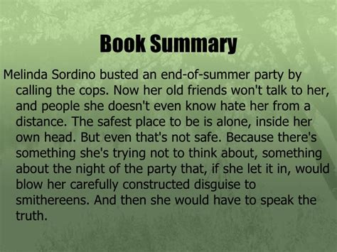 A Place Book Summary Intro To Novel Speak