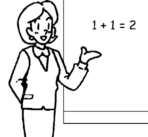 Math Teacher Coloring Pages | free coloring pages of blackboard