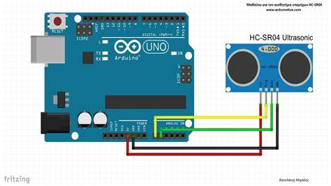 arduino code for ultrasonic sensor ultrasonic sensor hc sr04 test with arduino youtube