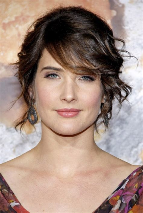 hairstyles with messy bangs hairstyles 2013 cobie smulders messy hairstyle with side