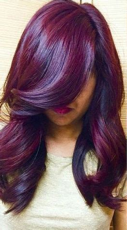 plum hair color winter fall 2015 hair color trends guide simply