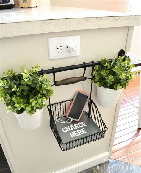 diy home charging station do it yourself clever charging stations decorating your