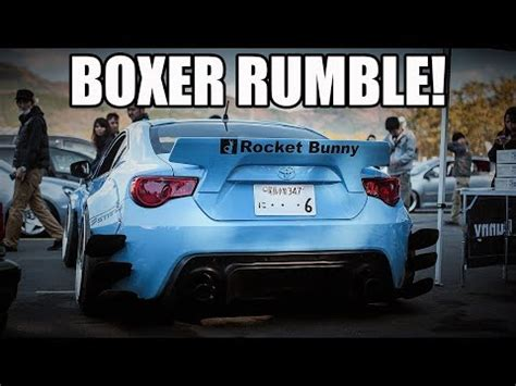 Subaru Boxer Rumble Subaru Brz Toyota Gt86 Scion Frs Ultimate Rumble