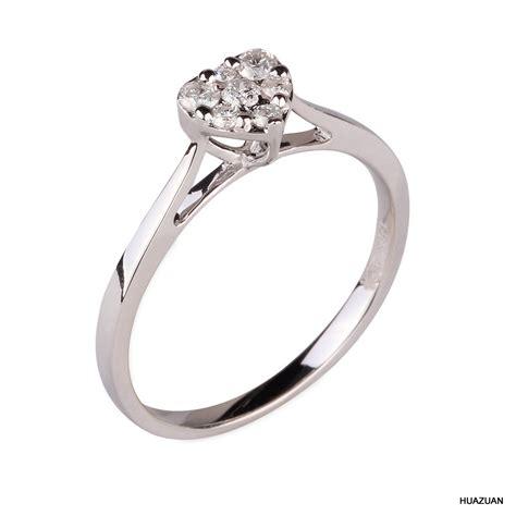 china jewellery 18k white gold wedding ring 1019