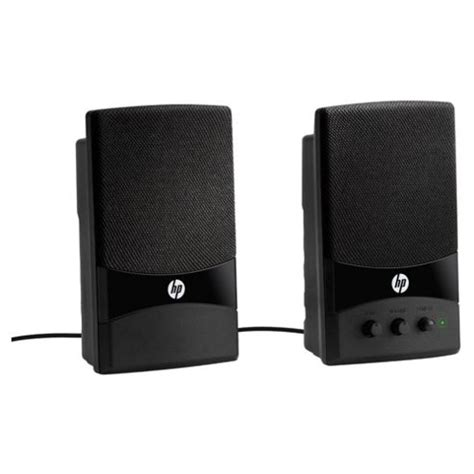 Speaker Laptop Hp buy hp multimedia speakers black from our computer speakers range tesco