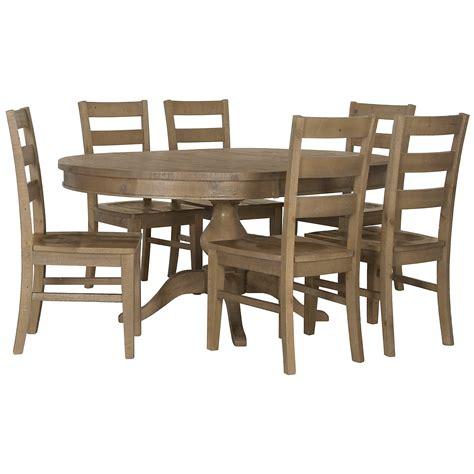 Jaden Set city furniture jaden light tone table 4 wood chairs