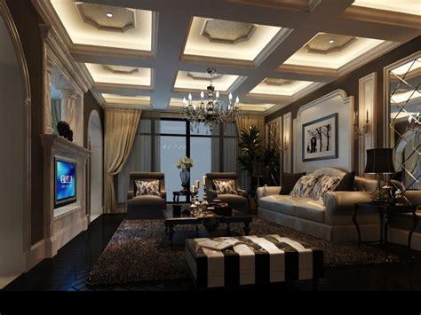 luxurious modern living room interior 3d model luxury living room 3d model max cgtrader com