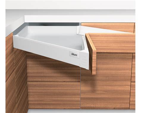Blumotion Drawers by Blum Tandembox Intivo M Height 83mm Corner Drawer With