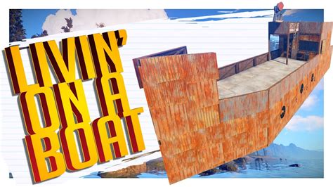 how to make a boat rust living on a boat rust youtube