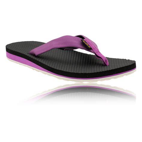 Flip Flops Comfortable For Walking by Teva Original Womens Purple Breathable Lightweight Walking