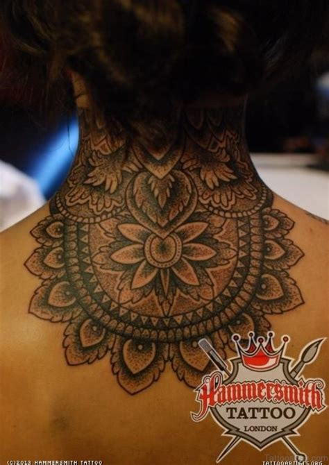 tattoo on nape of neck designs 69 fashionable mandala on back