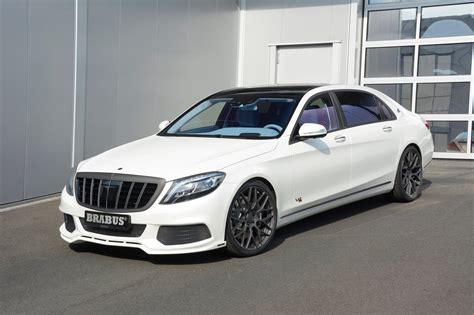 maybach mercedes white maybach s600 turns into brabus rocket 900 with blue