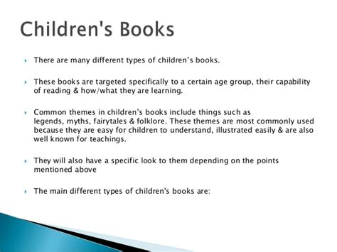 exles of common themes in children s literature common themes in books images