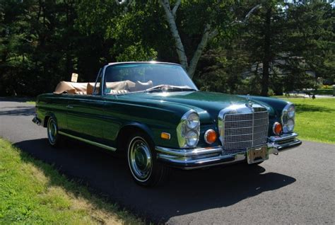 Carriage House Mercedes by 1971 Mercedes 280se 3 5 Cabriolet