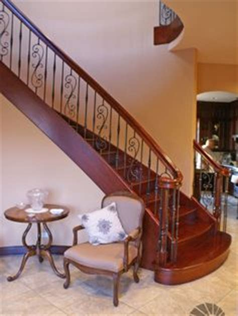 staircase design with dinning table cherry stairs with white risers solid oak stained treads white poplar risers