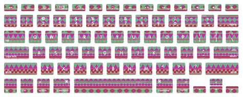 free printable keyboard stickers navajo macbook keyboard decal stickers