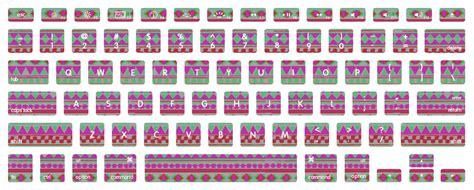 Printable Keyboard Stickers | navajo macbook keyboard decal stickers