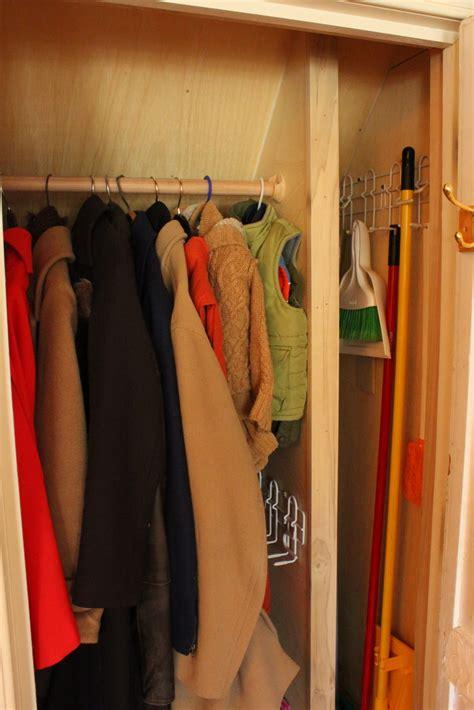 coat closet renovation a dual purpose coat closet fieldstone hill