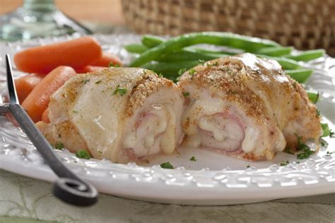 Oshinfood Cordon Blue chicken cordon bleu pinwheels mrfood