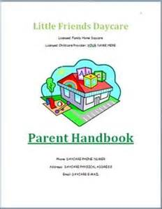 Family Day Care Parent Handbook Template 1000 ideas about home childcare on home