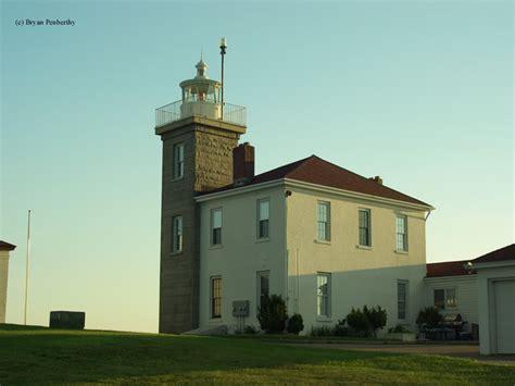 rhode island light displays hill lighthouse westerly rhode island