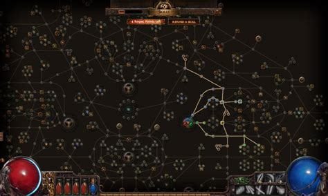 path of exile passive skill tree screenshot review