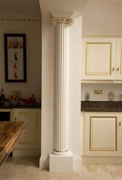 Home Interior Kitchen Designs plaster columns from plasterwrx restoration manufacture