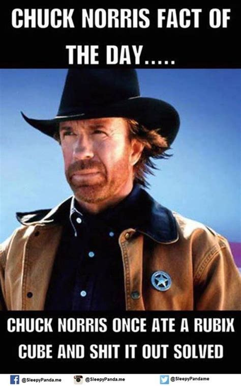chuck norris fact of the day meme
