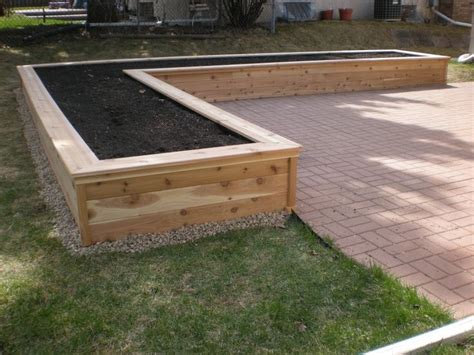 vegetable planter box best 25 large planter boxes ideas on large