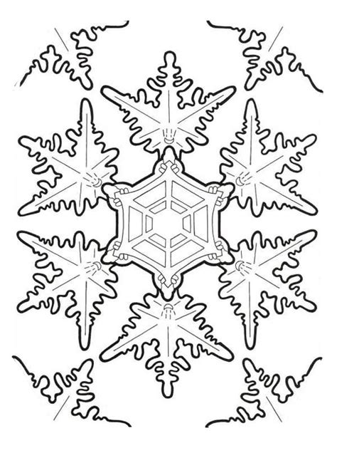 detailed snowflake coloring page amazing christmas snowflakes coloring page color luna