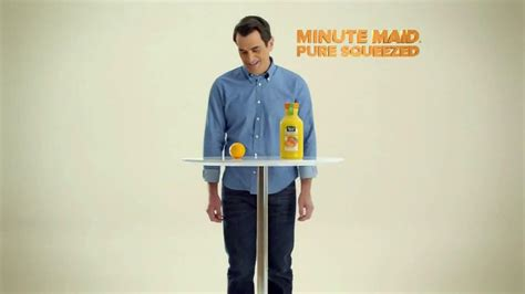 ty burrell commercial minute maid pure squeezed tv commercial hug it out