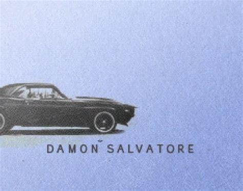 Damon Salvatore Auto by Damon Salvatore And He Drives My Car Ian