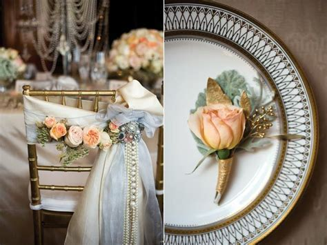 The Jazz Age: Great Gatsby Inspired Wedding Decor