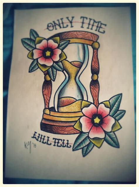 tattoo old school hourglass hourglass traditional tattoo design by katomacabre on