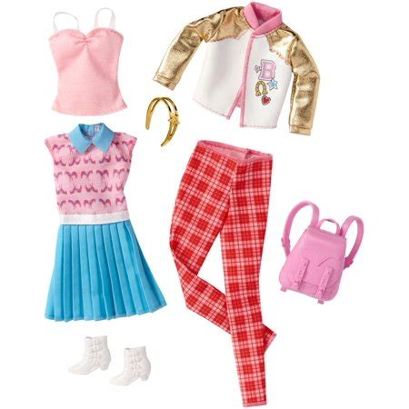 barbie glam boat walmart barbie fashion outfit 2 pack 8 walmart