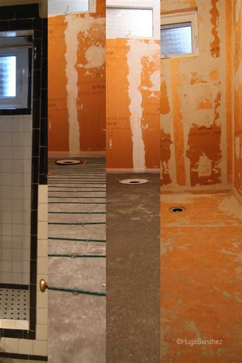 Bathroom Shower Waterproofing Small Bathroom Design C 233 Ramiques Hugo Inc