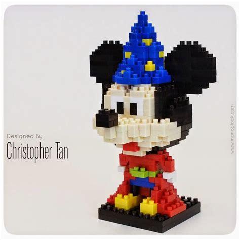 Nanoblock Mickey christopher nanoblock mickey mouse from fantasia