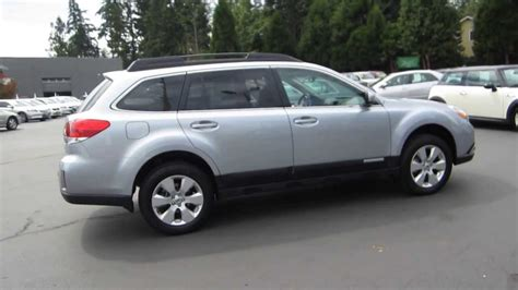 silver subaru outback 2012 subaru outback silver metallic stock 140019a