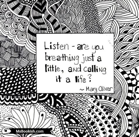 doodle quote doodle quote listen oliver msbookish