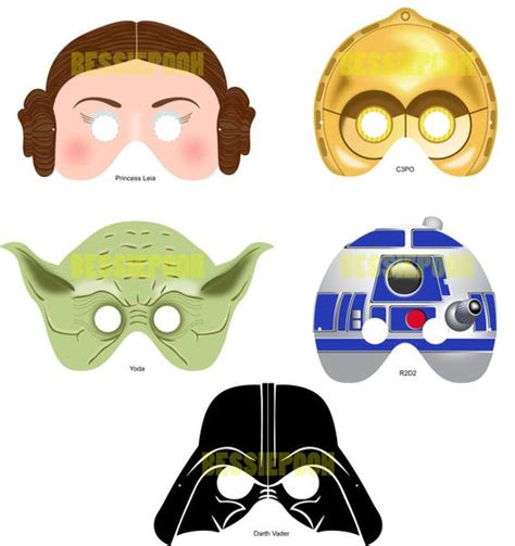 printable masks com masques star wars and guerre on pinterest