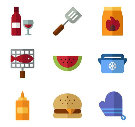 Kitchen Design Show barbecue icons 1 077 free vector icons