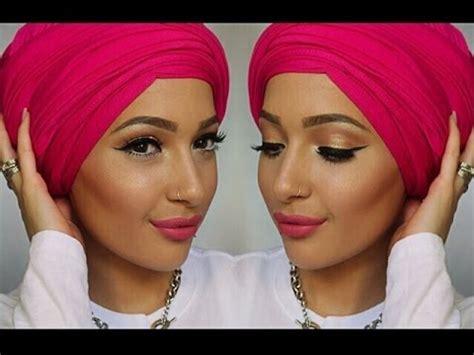 tutorial hijab saritiw get ready with me eid make up tutorial hijab tutorial