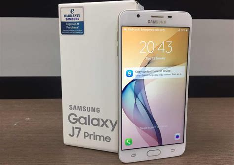 Harga Samsung J7 Prime Gold 2018 samsung galaxy j7 prime review priming up the j7