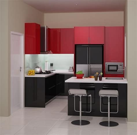 Contoh Kabinet Dapur Dan Harga Harga 70 Model Gambar Kitchen Set Minimalis Memiliki