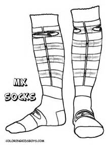 sock coloring page free coloring pages of shoes with socks