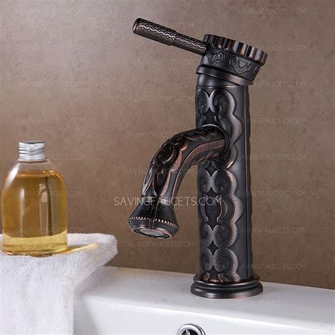 Wholesale Faucets Bathroom by Antique Rubbed Bronze Carved Wholesale Bathroom