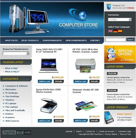 cre loaded templates computer store cre loaded template 11445
